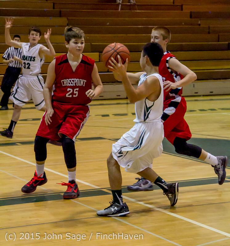 0395 Boys JV Basketball v Crosspoint 122115