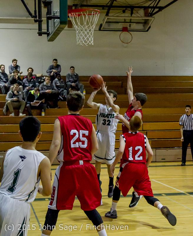 0405 Boys JV Basketball v Crosspoint 122115