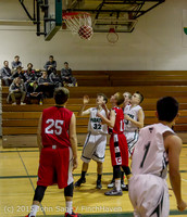 0412 Boys JV Basketball v Crosspoint 122115