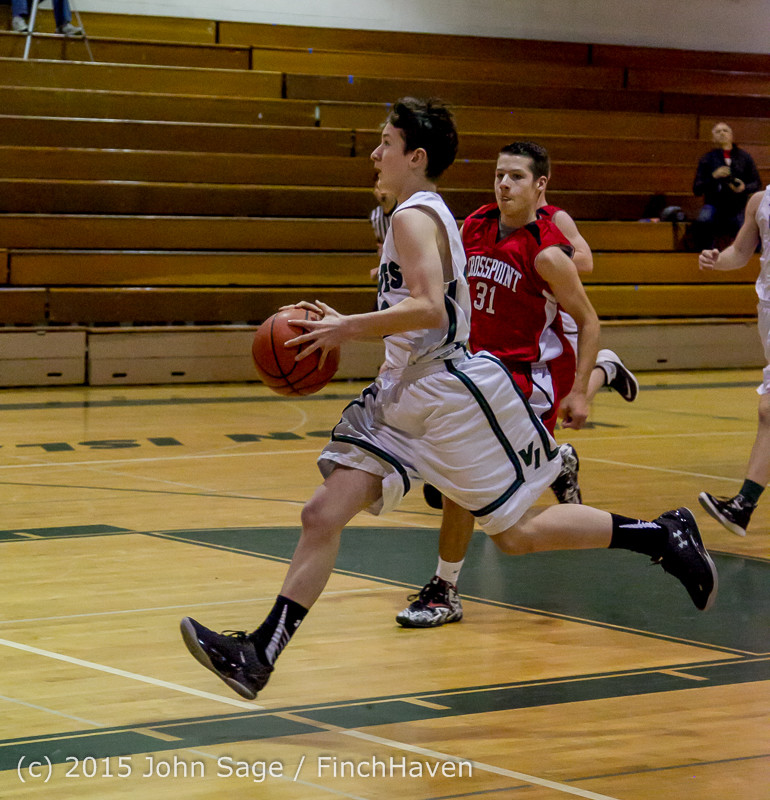 0435 Boys JV Basketball v Crosspoint 122115