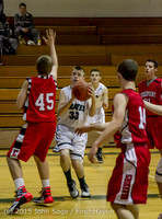 0451 Boys JV Basketball v Crosspoint 122115