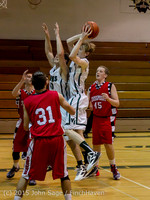 0483 Boys JV Basketball v Crosspoint 122115