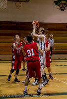 0486 Boys JV Basketball v Crosspoint 122115