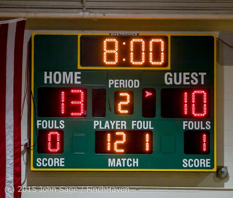 0506 Boys JV Basketball v Crosspoint 122115