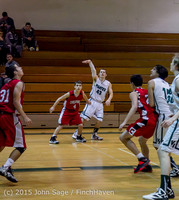 0532 Boys JV Basketball v Crosspoint 122115