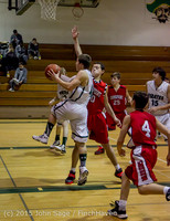 0542 Boys JV Basketball v Crosspoint 122115