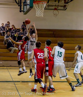 0565 Boys JV Basketball v Crosspoint 122115