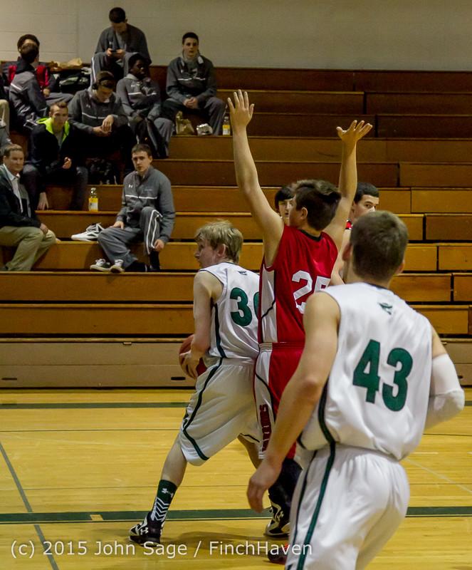 0594 Boys JV Basketball v Crosspoint 122115