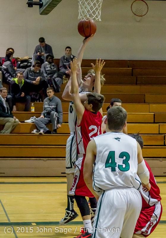 0597 Boys JV Basketball v Crosspoint 122115