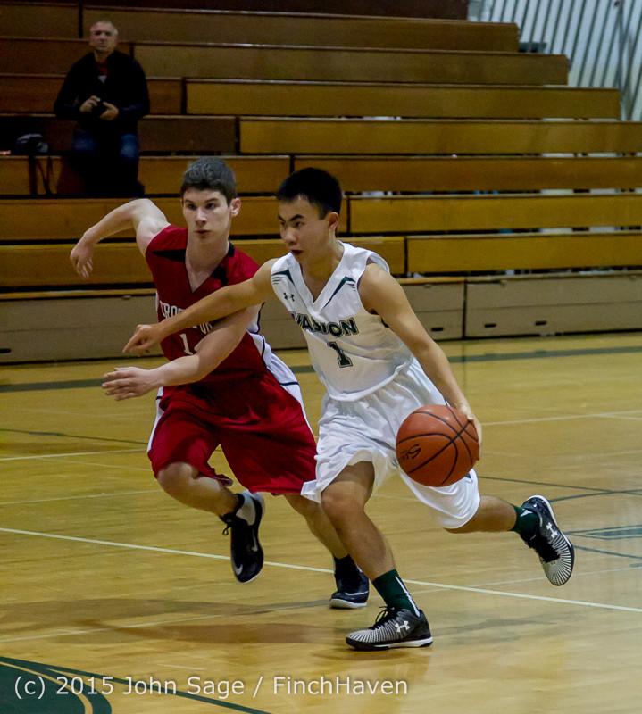 0632 Boys JV Basketball v Crosspoint 122115