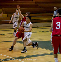 0638 Boys JV Basketball v Crosspoint 122115