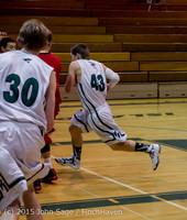 0653 Boys JV Basketball v Crosspoint 122115