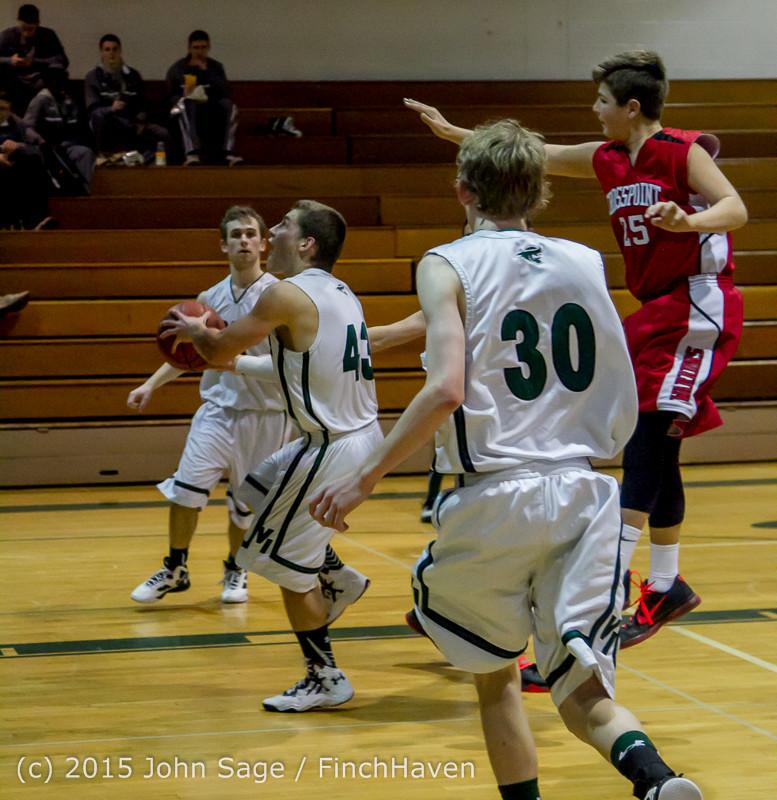 0656 Boys JV Basketball v Crosspoint 122115