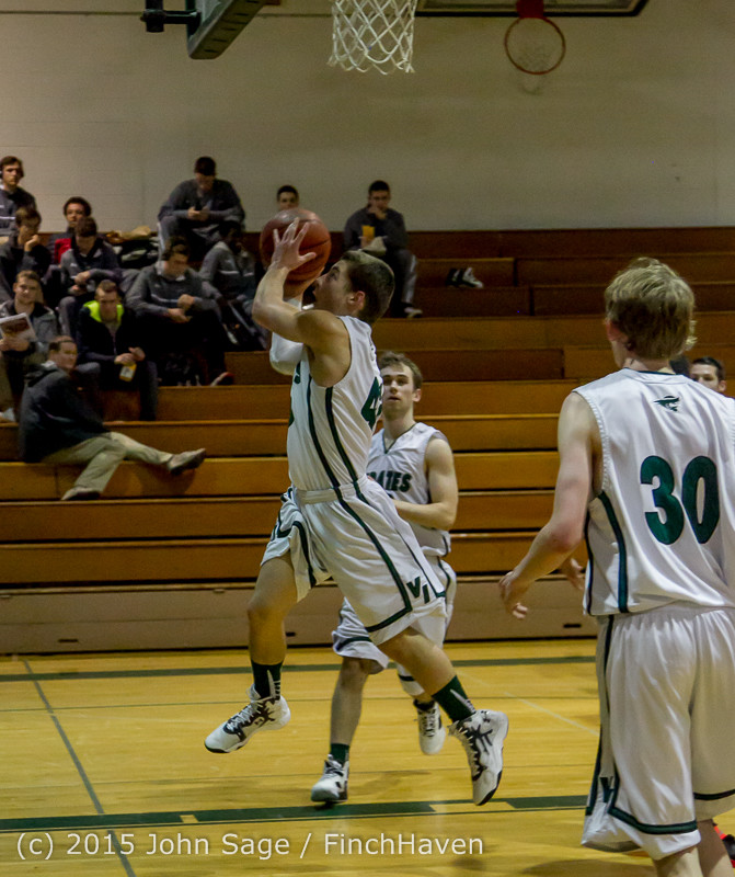 0657 Boys JV Basketball v Crosspoint 122115