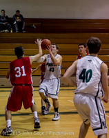 0680 Boys JV Basketball v Crosspoint 122115