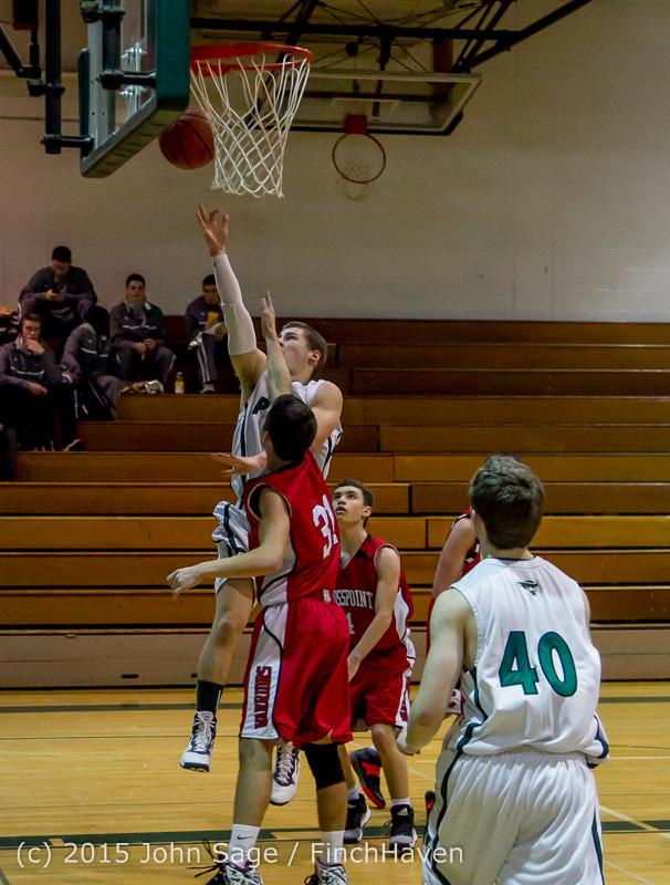 0682 Boys JV Basketball v Crosspoint 122115