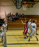 0689 Boys JV Basketball v Crosspoint 122115