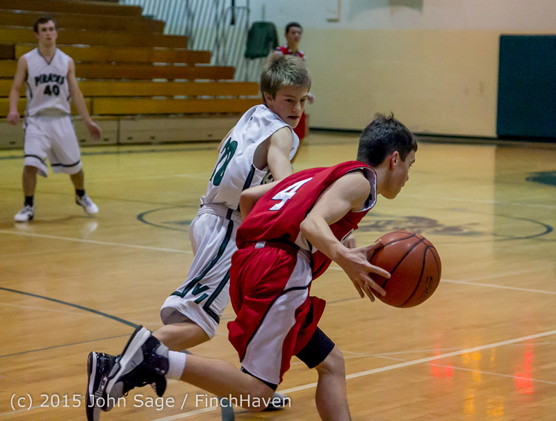 0716 Boys JV Basketball v Crosspoint 122115