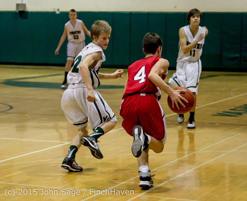 0721 Boys JV Basketball v Crosspoint 122115
