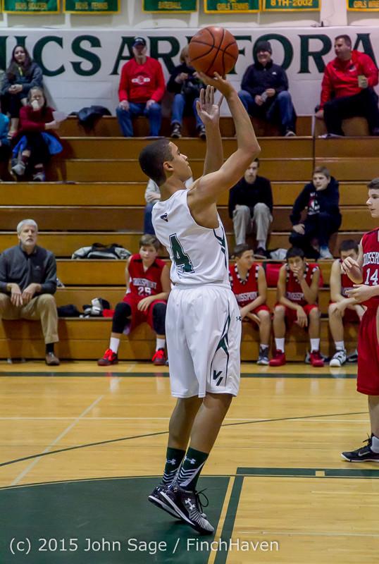 0755 Boys JV Basketball v Crosspoint 122115