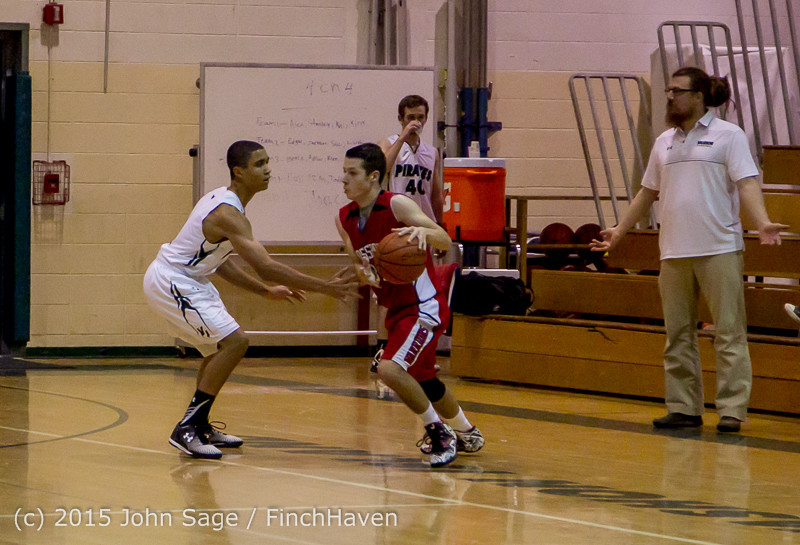 0776 Boys JV Basketball v Crosspoint 122115