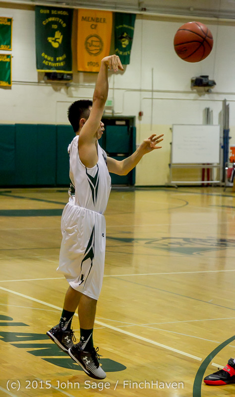 0826 Boys JV Basketball v Crosspoint 122115