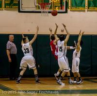 0855 Boys JV Basketball v Crosspoint 122115