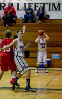 0861 Boys JV Basketball v Crosspoint 122115