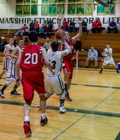 0914 Boys JV Basketball v Crosspoint 122115