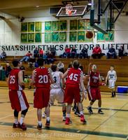 0924 Boys JV Basketball v Crosspoint 122115