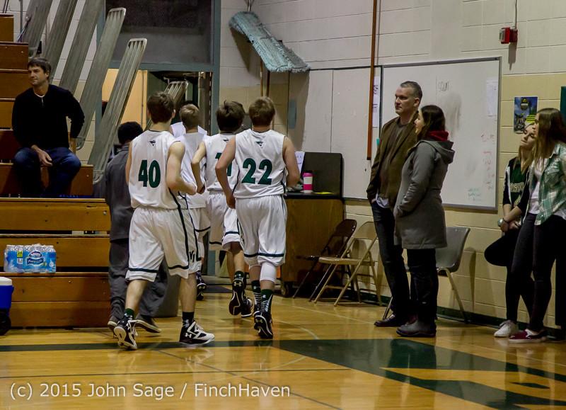 0944 Boys JV Basketball v Crosspoint 122115