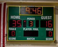 0947 Boys JV Basketball v Crosspoint 122115