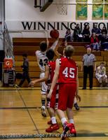 0963 Boys JV Basketball v Crosspoint 122115