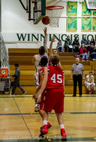 0964 Boys JV Basketball v Crosspoint 122115