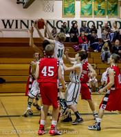 0971 Boys JV Basketball v Crosspoint 122115