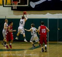 0980 Boys JV Basketball v Crosspoint 122115