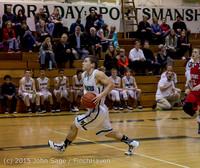 1021 Boys JV Basketball v Crosspoint 122115