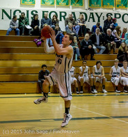 1023 Boys JV Basketball v Crosspoint 122115