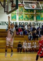 1025 Boys JV Basketball v Crosspoint 122115