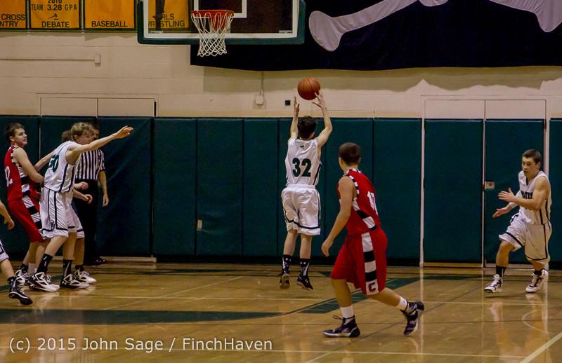 1048 Boys JV Basketball v Crosspoint 122115