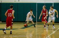 1055 Boys JV Basketball v Crosspoint 122115