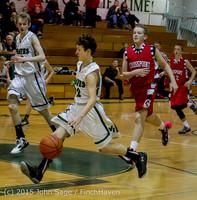 1073 Boys JV Basketball v Crosspoint 122115
