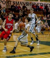 1076 Boys JV Basketball v Crosspoint 122115