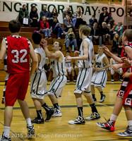 1086 Boys JV Basketball v Crosspoint 122115