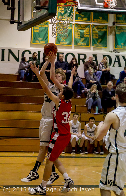 1109 Boys JV Basketball v Crosspoint 122115