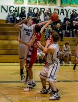 1115 Boys JV Basketball v Crosspoint 122115
