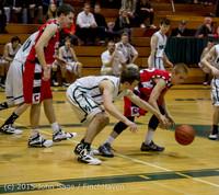 1121 Boys JV Basketball v Crosspoint 122115