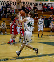 1126 Boys JV Basketball v Crosspoint 122115