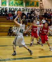 1129 Boys JV Basketball v Crosspoint 122115