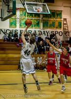 1130 Boys JV Basketball v Crosspoint 122115